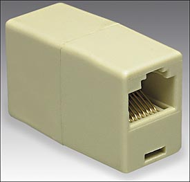RJ 45 COUPLER 1BY1